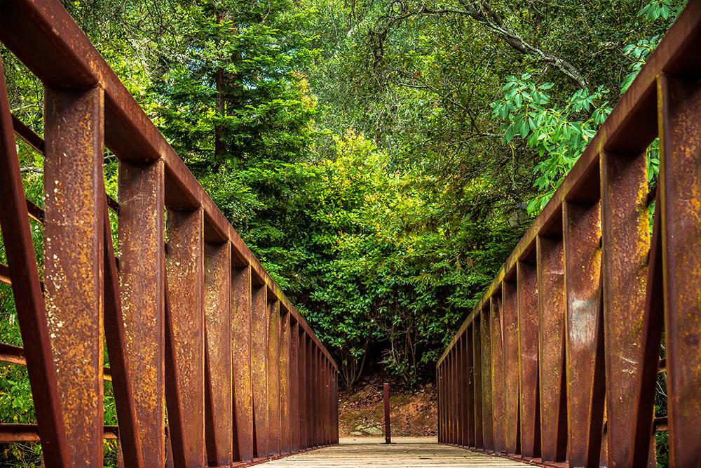Walking Bridge El Dorado Hills CA