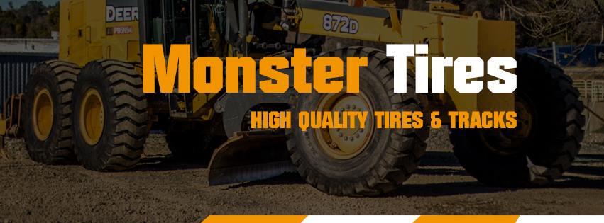 Monster Tires Rubber Tracks